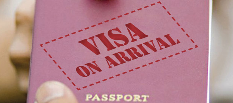 It is now e-VA. Visa on arrival gets a new name